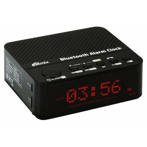 Радиобудильник Ritmix RRC-818 черный радиоприемник ritmix rrc 1295
