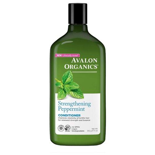 Avalon Organics кондиционер Strengthening Peppermint, 325 мл, 312 г цена 2017