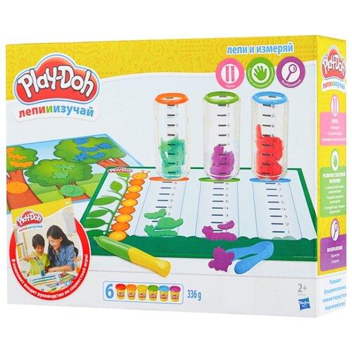 Масса для лепки Play-Doh Сделай и измерь (B9016) play doh play doh малыши динозаврики