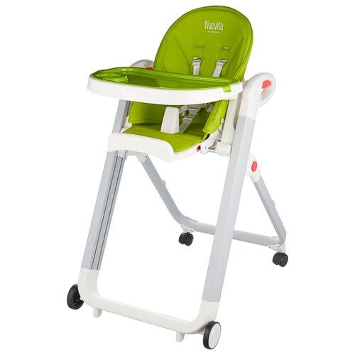 Растущий стульчик Nuovita Futuro verde bianco