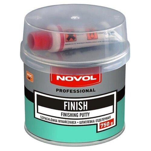 Комплект (шпатлевка, отвердитель) NOVOL FINISH 0.75 кг