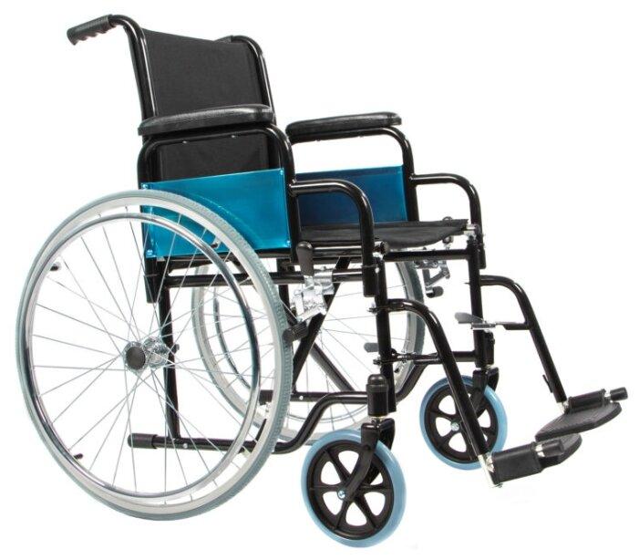 Кресло-коляска механическое Ortonica Base 130, ширина сиденья: 430 мм