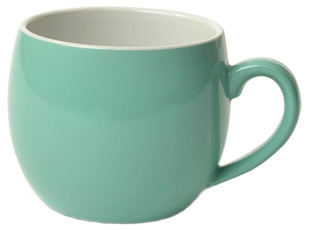 Кружки, стаканы, чашки Fissman Кружка 320мл, цвет Аквамарин (керамика)