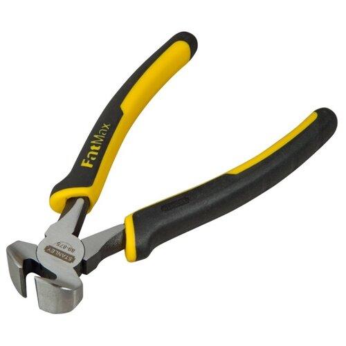 Торцевые кусачки STANLEY FatMax 0-89-875 160 мм черный/желтый боковые кусачки topex 160 мм 32d106