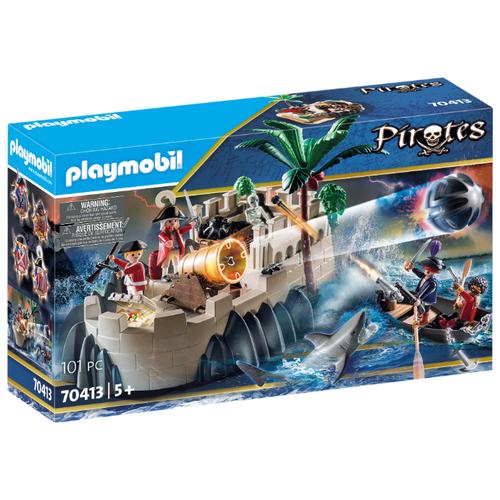 Купить Набор с элементами конструктора Playmobil Pirates 70413 Бастион, Конструкторы