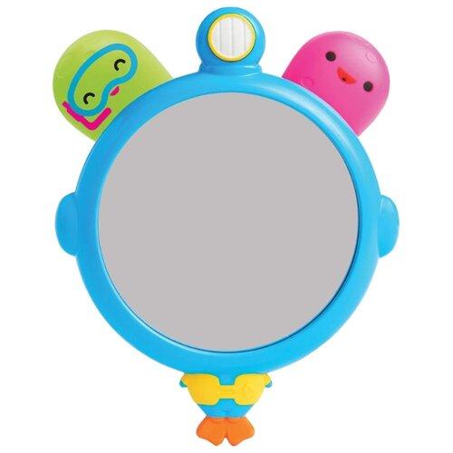 Купить Набор для ванной Munchkin Зеркало и осьминожки (11179) голубой/зеленый/розовый, Игрушки для ванной