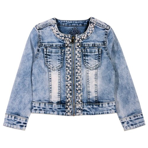 Купить Куртка Sweet Berry размер 104, голубой, Куртки и пуховики