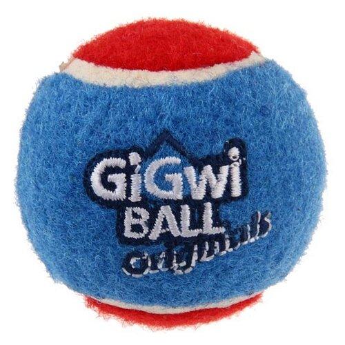 Мячик для собак GiGwi GiGwi ball Original самый маленький 3 шт (75340) голубой/красный/фиолетовый