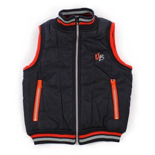 Купить Жилет V-Baby 58-032 размер 104, темно-синий, Куртки и пуховики