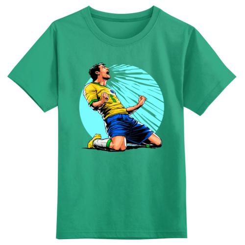 Купить Футболка Printio размер 4XS, зеленый, Футболки и майки