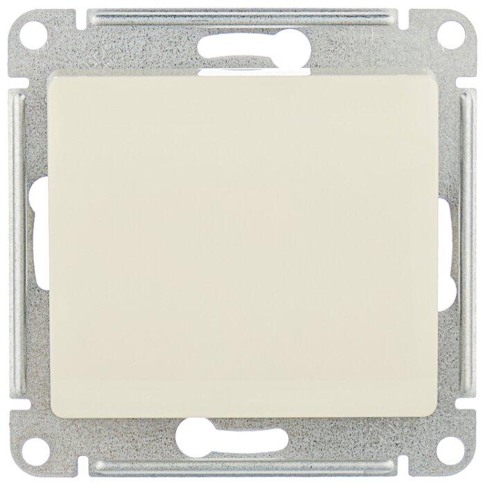 Выключатель 1-полюсный Schneider Electric GLOSSA GSL000211,10А, бежевый