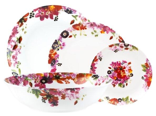 Столовый сервиз Domenik Fruits Bouquet 19 предметов DM9213