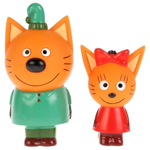 Фото - Набор для ванной Играем вместе Карамелька и Компот (STFT1809-07BL-TC) зеленый/красный/оранжевый набор для ванной играем вместе котенок гав и щенок 136r pvc белый оранжевый