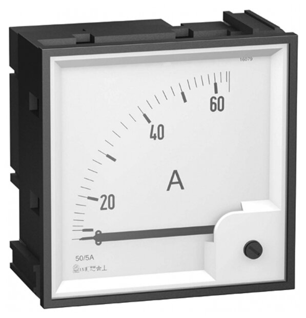 Шкалы измерения для установки Schneider Electric 16092