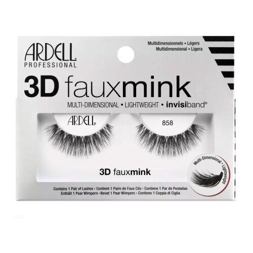 Фото - Ardell Ресницы 3D Faux Mink 858 черный mink keer 4 43
