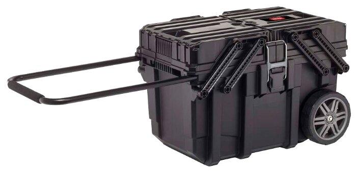 Ящик-тележка KETER Cantilever mobile cart job box (17203037) 64.6x37.3x41 см