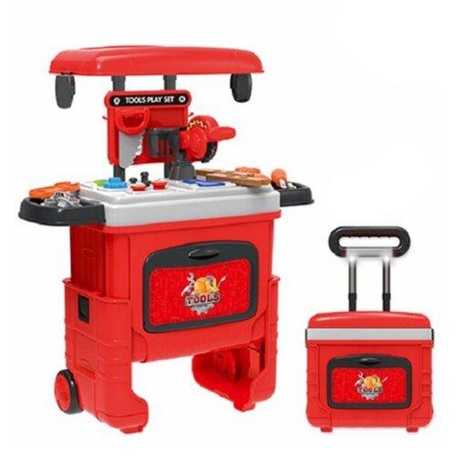 Наша игрушка Набор инструментов Мастер, чемоданчик и 23 аксессуара 200420119 игрушка