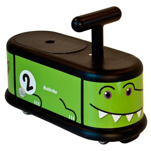 Каталка-толокар Italtrike La Cosa Crocodile зеленый каталка толокар orion toys мотоцикл 2 х колесный 501 зеленый
