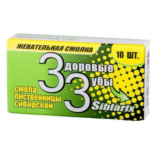 Жевательная резинка Нарине Siblarix Здоровые зубы, 10 шт.