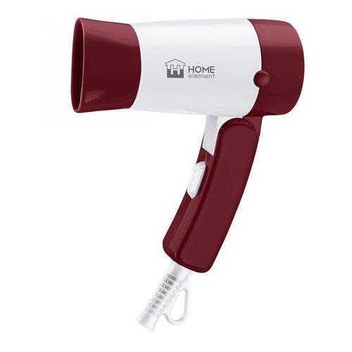 Фен Home Element HE-HD317 бордовый гранат