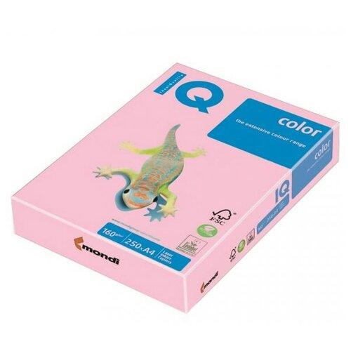 Фото - Бумага IQ Color А4 160 г/м² 250 лист. розовый PI25 1 шт. бумага iq color а4 color 120 г м2 250 лист кораллово красный co44 1 шт
