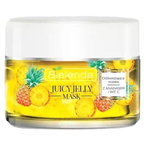 Bielenda Juicy Jelly Освежающая маска Ананас и витамин С, 50 г