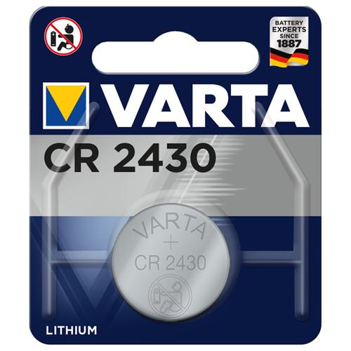 Фото - Батарейка VARTA CR2430, 1 шт. батарейка varta cr p2 1 шт