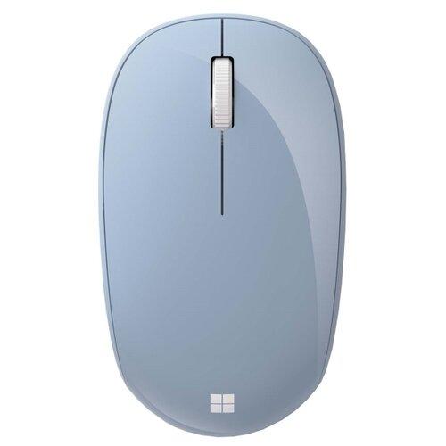 Беспроводная мышь Microsoft Bluetooth, голубой