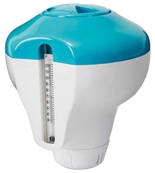 Intex Плавающий дозатор с термометром 2 в 1 29043
