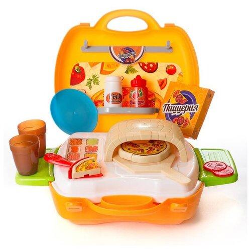 Набор ABtoys Чудо-чемоданчик PT-00460 оранжевый/белый/голубой/зеленый