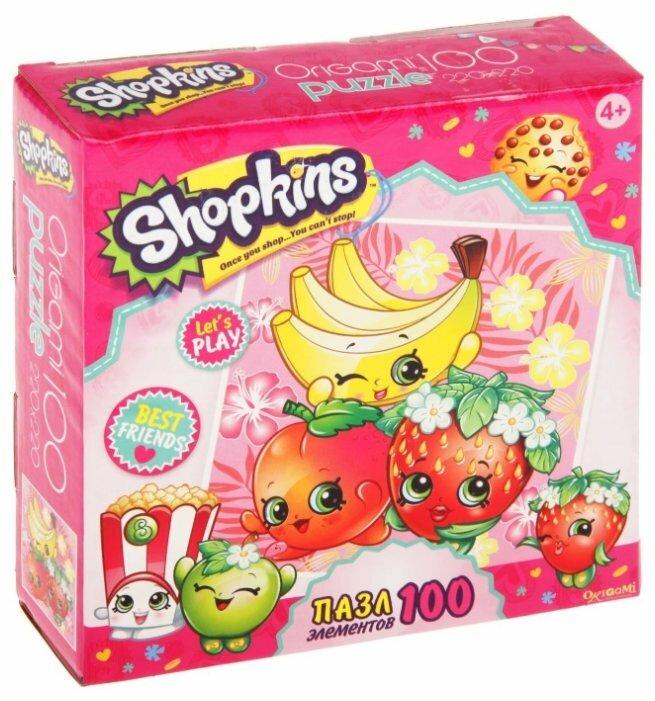 Пазл Origami Shopkins Веселимся вместе (02973), 100 дет.
