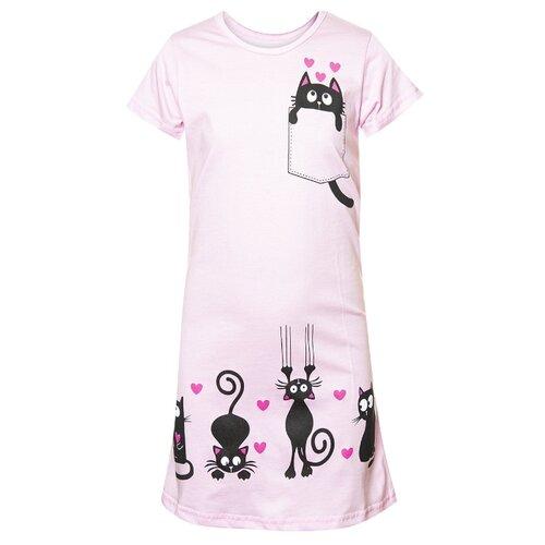 Платье M&D размер 116, светло-розовый
