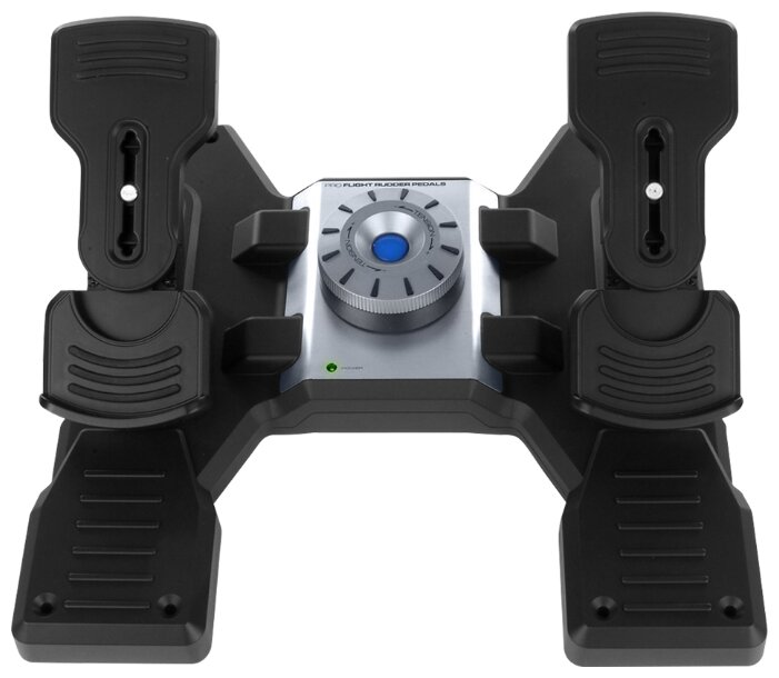Комплектующие для руля Logitech PRO Flight Rudder Pedals