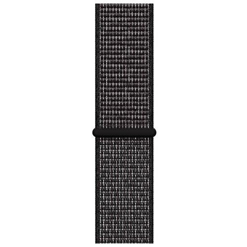 Apple Спортивный браслет Nike (для корпуса 40 мм) черный
