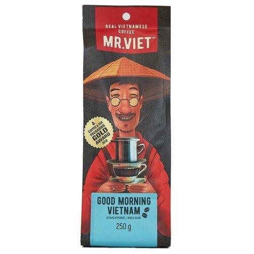 Кофе в зернах Mr.Viet Good Morning Vietnam, робуста, 250 г good morning vietnam original motion picture sountrack