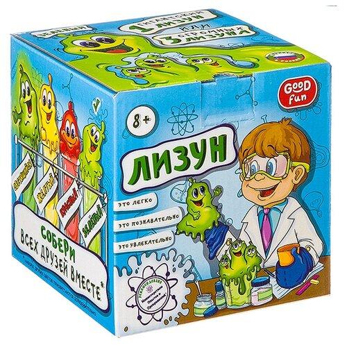 Набор Good Fun Лизун зеленый набор для опытов good fun искусственный снег большой набор gf008