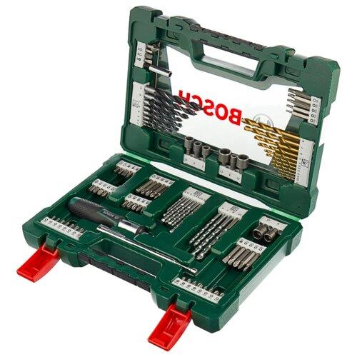 Набор инструментов BOSCH (91 предм.) V-Line 91 (2.607.017.195) набор фрез bosch s6мм 2607017465