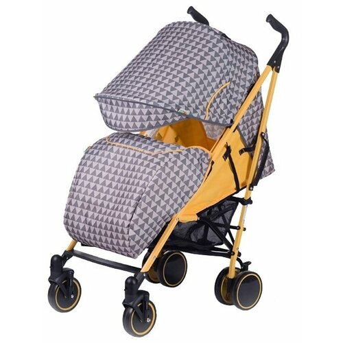 Прогулочная коляска Babyhit Handy серый/желтый