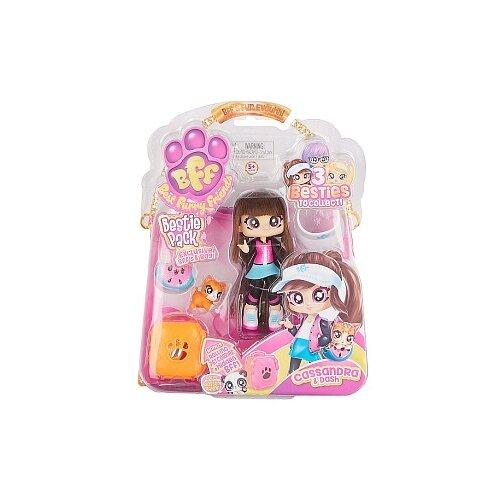 Кукла Headstart Best Furry Friends Cassandra & Dash с питомцем, 12 см, 77722