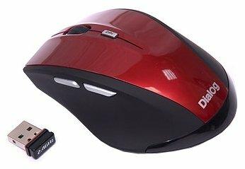 Мышь Dialog MRLK-17U Red USB