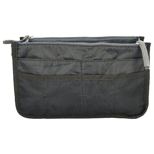 Органайзер для сумки Kingth Goldn C074, черный/серый органайзер kingth goldn с094 черный