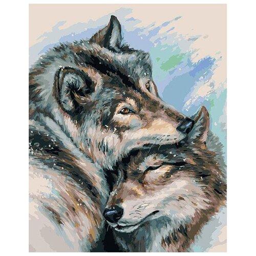 Купить Белоснежка Картина по номерам Не шуми 30х40 см (272-AS), Картины по номерам и контурам