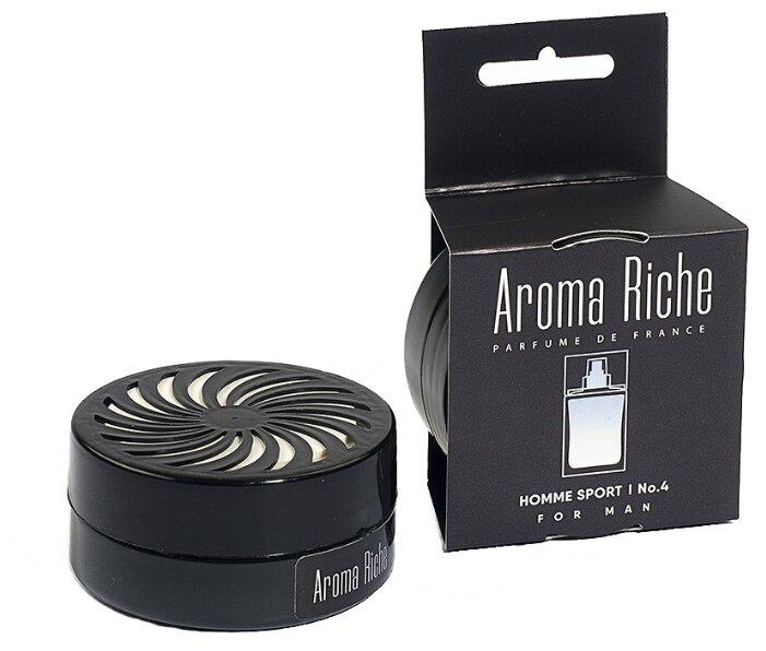 Автолидер Ароматизатор для автомобиля, Aroma Riche мужской, Homme Sport №4 50 г