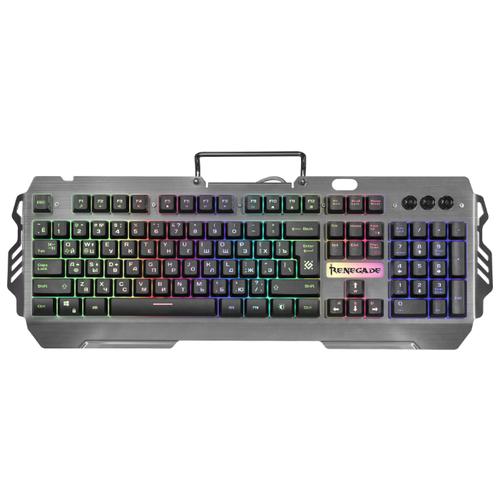 Клавиатура Defender Renegade GK-640DL RU RGB Black USB клавиатура defender stalker gk 170l