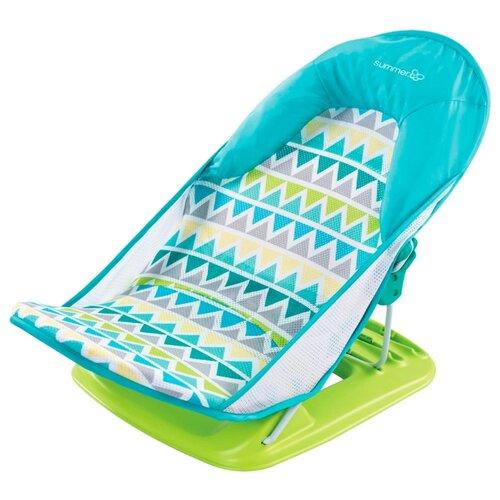 Горка для купания Summer Infant Deluxe Baby Bather triangle stripe фото