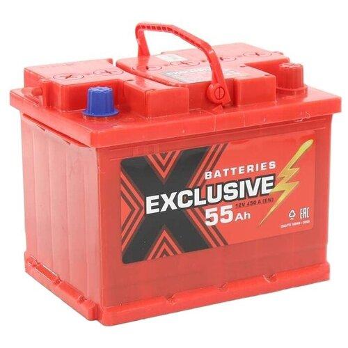 Автомобильный аккумулятор Exclusive 6СТ-55 П/П аккумулятор firebal 6ст 90nr