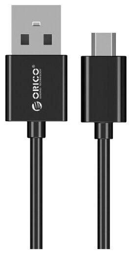 Кабель ORICO USB - microUSB (ADC-10) 1 м черный фото 1