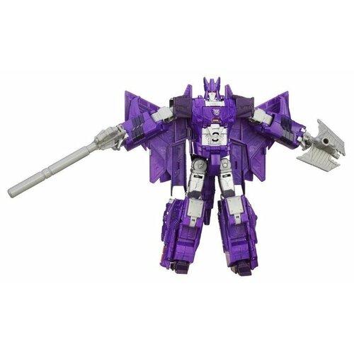 Трансформер Hasbro Transformers Циклон. Войны Комбёров Вояджер (Трансформеры Дженерейшнс) B2398 фиолетовый цена 2017