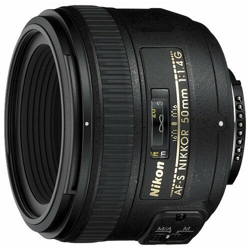 Фото - Объектив Nikon 50mm f/1.4G AF-S Nikkor объектив nikon 50mm f 1 4d af