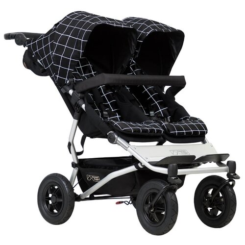 Прогулочная коляска Mountain buggy Duet grid buggy boom коляска для кукол buggy boom infinia трансформер салатовая